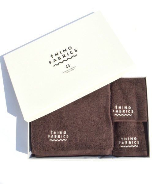 [ROOP TOKYO] tHING FABRICS/シングファブリックス TIP TOP 365 Towel Gift Box