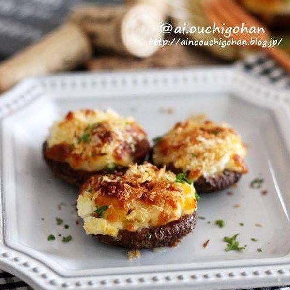 洋風の副菜に人気!タルタルチーズパン粉焼き