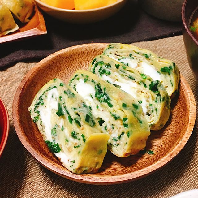 簡単な美味しい食べ方に!人気のニラ卵焼き