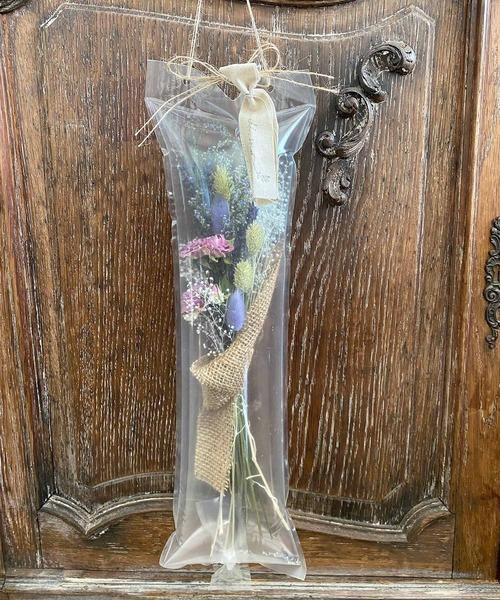 [m.soeur] 花キャリー*ドライフラワーの花束