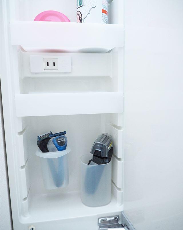 100均グッズを使った洗面所の鏡裏の収納アイデア3