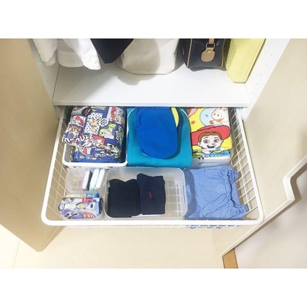 子供服のクローゼット収納アイデア《IKEA》6