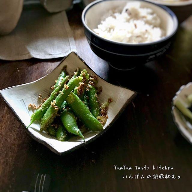 いんげんの人気レシピ☆簡単な副菜料理《和風》2
