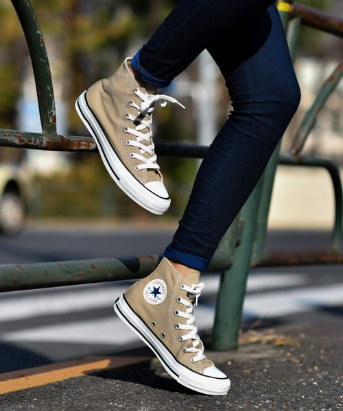 [CHAPTER WORLD] CONVERSE ALL STAR COLORS HI (ベージュ) 32664389