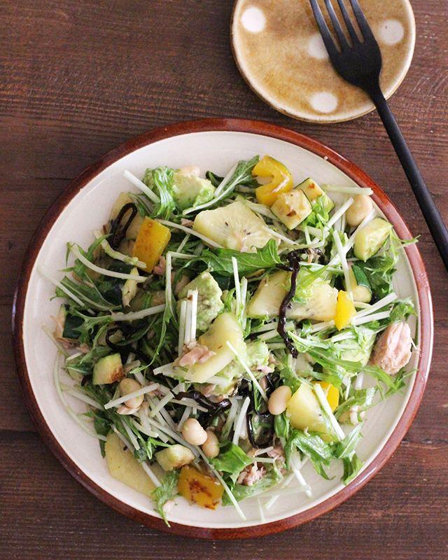 水菜を使った簡単な人気のお弁当料理9