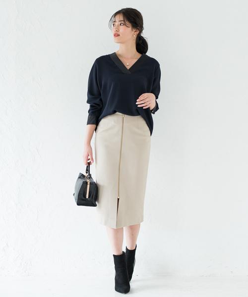 [Loungedress] 2wayタイトスカート