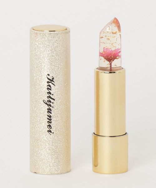 [SiNCERE] 〈Kailijumei/カイリジュメイ〉Flower Lipstick/フラワーリップ (日本限定ゴールドケースモデル)