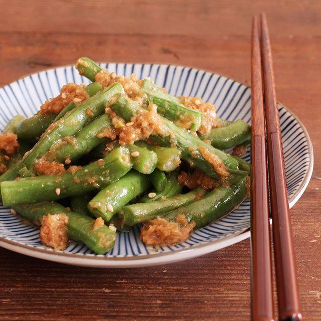いんげんの人気レシピ☆簡単な副菜料理《和風》3
