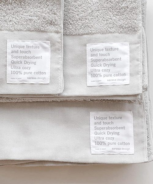[sarasa design store] b2c 泉州 本晒しパイル ウォッシュタオル 3枚入り|34×38cm