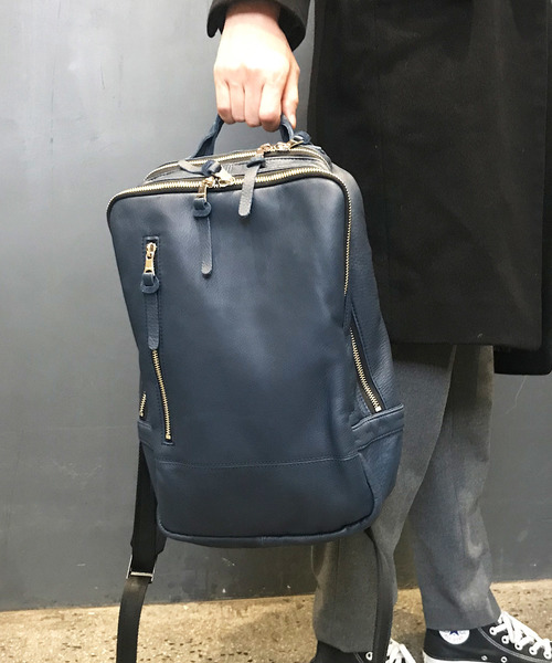 [DECADE] オイルドカウレザー・バックパック/リュック(S) DECADE(No-01140L) Oiled Cow Leather Back Pack Ruck くったりレザーリュック