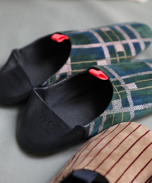 [anlio] Room Shoes イロドリスエードバブーシュ