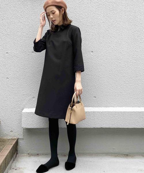 [PICCIN] PICCIN別注【日本製】衿&カフス付きワンピース