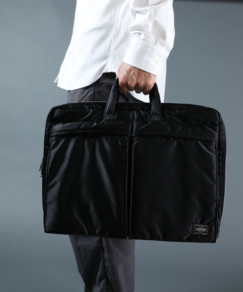 [STUDIOUS MENS] 【PORTER】TANKER 2WAY BRIEFCASE/タンカー2ウェイブリーフケース/622-67136