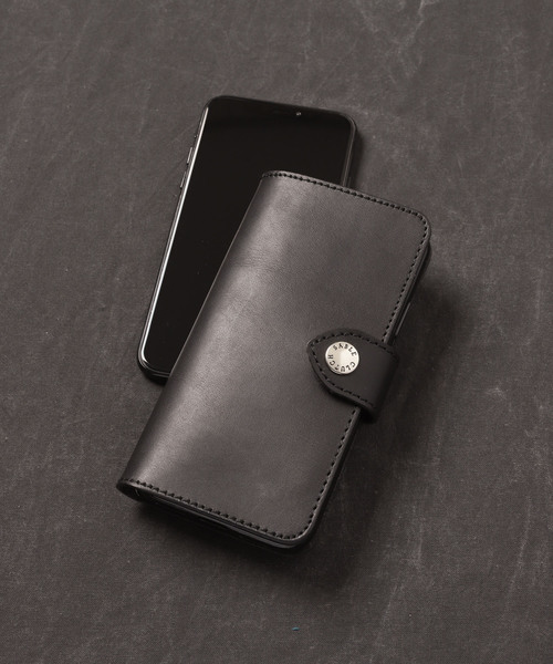 [SABLE CLUTCH] iPhoneX/XS FLIP CASE - ORIGINAL JP LEATHER