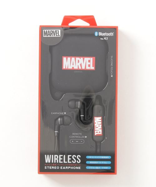 [Rendez-Vous] Disney Lifestyle Collection (MARVEL) BluetoothR 4.1搭載 ワイヤレス ステレオ イヤホン