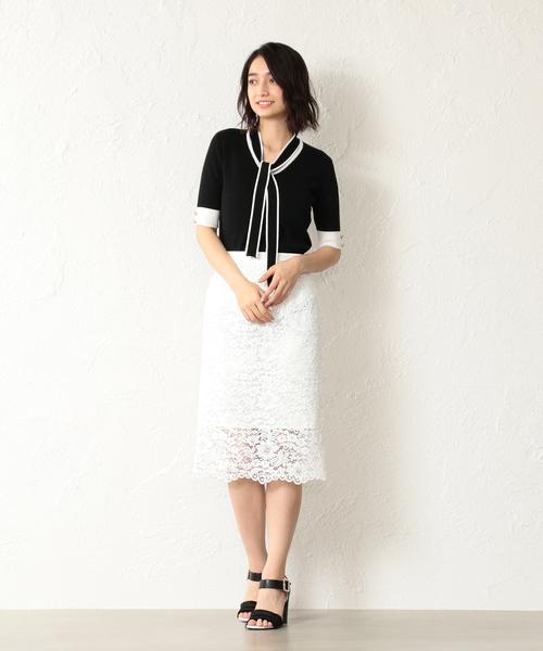 [LOVELESS] 【LOVELESS】WOMEN レースタイトロングスカート