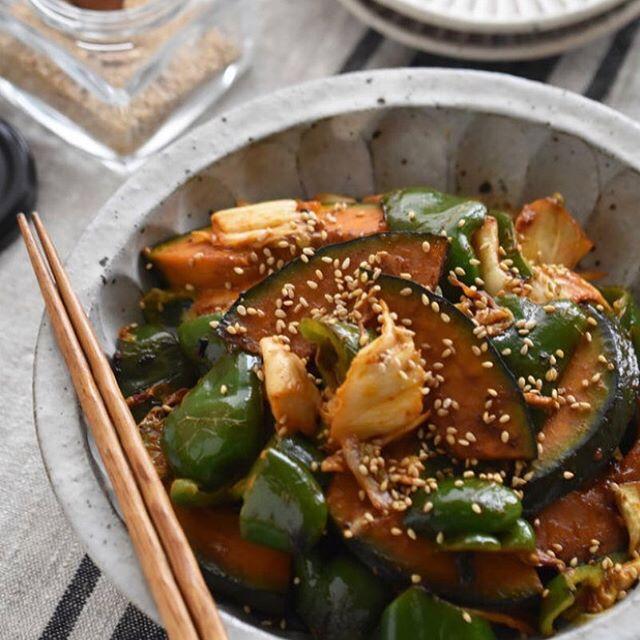冷やし中華のメニュー☆簡単な副菜料理《炒め》
