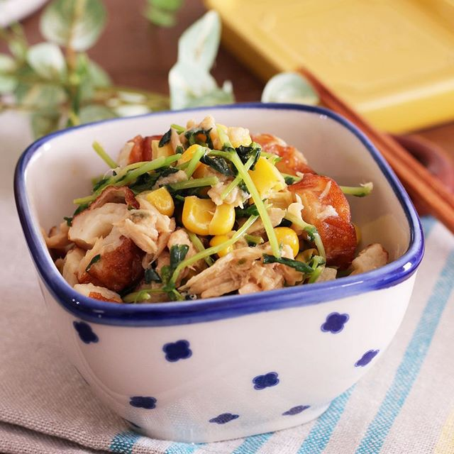 冷やし中華のメニュー☆簡単な副菜料理《和え》