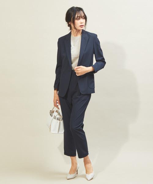 [qualite] 【夏スーツ】トラベルジャケット
