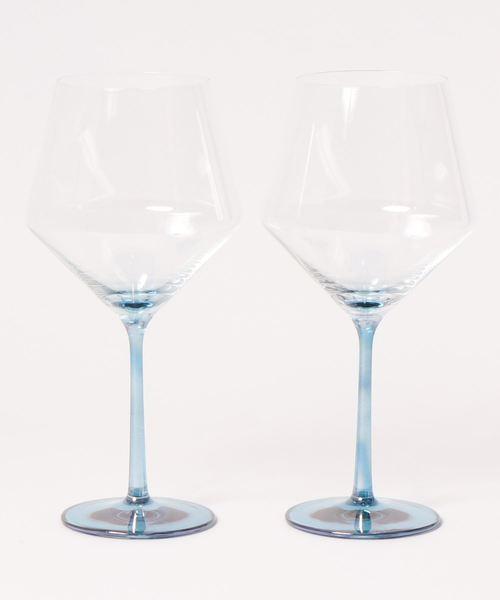 [JOURNAL STANDARD] ワイングラスペア ブルー