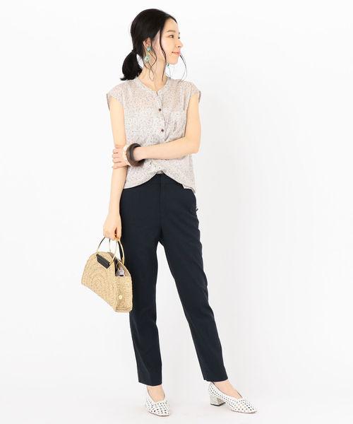 【金沢】6月に最適な服装:パンツコーデ4