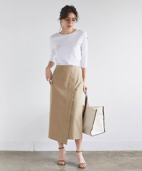 オフィスカジュアル 夏 スカート