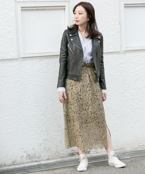 6月の軽井沢:レーススカートの服装