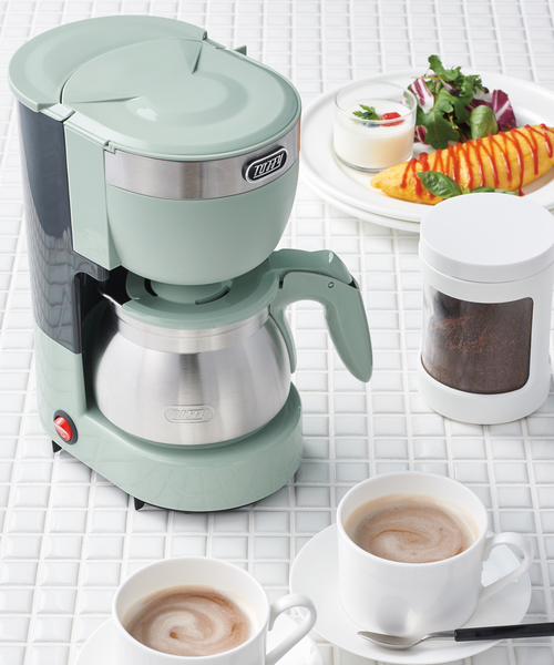 [Toffyマルシェ] 【Toffy/トフィー】 5カップアロマコーヒーメーカー