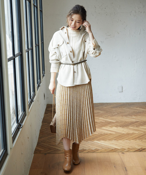 [ROPE' PICNIC] 【meiji THE Chocolate×ROPE' PICNIC】ランダムヘムスカート