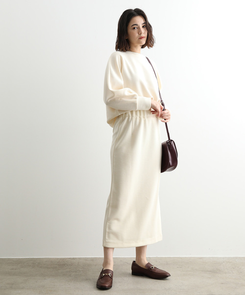 [ADAM ET ROPE'] 【WEB限定】【セットアップ対応】ロングタイトスカート
