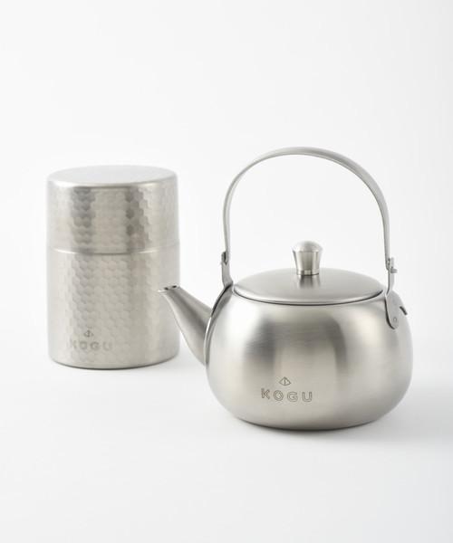 [IDEA SEVENTH SENSE] 茶考具 2点セット(急須・茶筒)