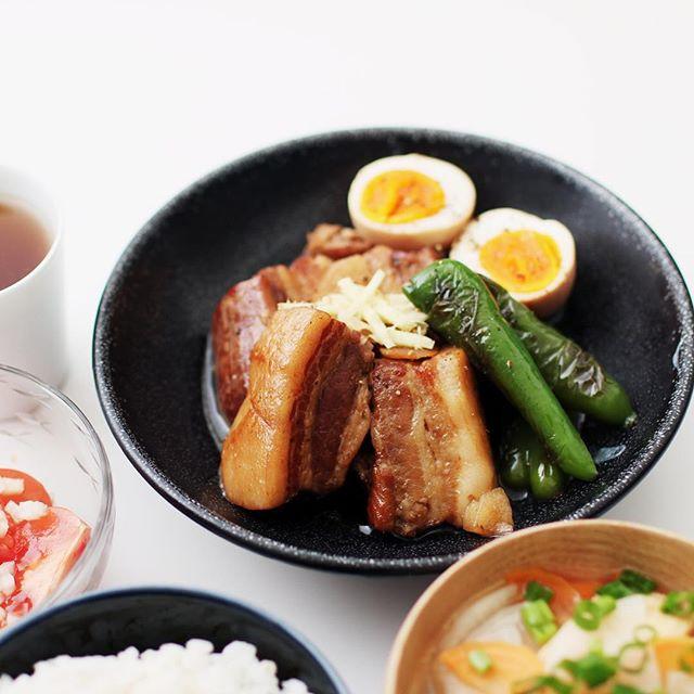 こっくり美味しい豚の角煮