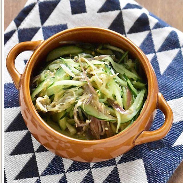 冷やし中華のメニュー☆簡単な副菜料理《和え》4