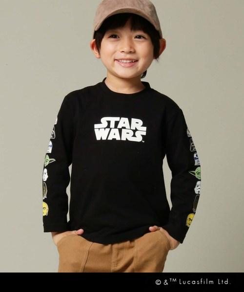 [THE SHOP TK] STAR WARS(スター・ウォーズ)【100~150cm】ロングTシャツ