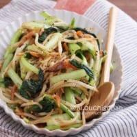 小松菜を使った副菜レシピ24選!《和風・洋風・中華風》を味わう人気料理をご紹介