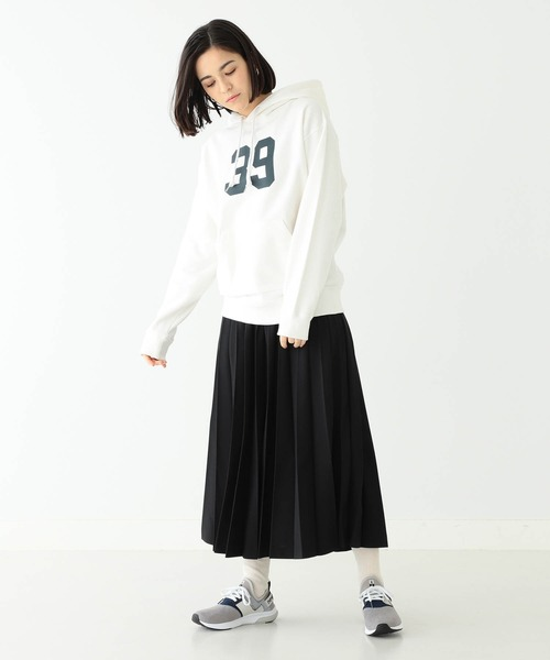 [BEAMS WOMEN] BEAMS BOY / ポリエステル アコーディオン プリーツ スカート