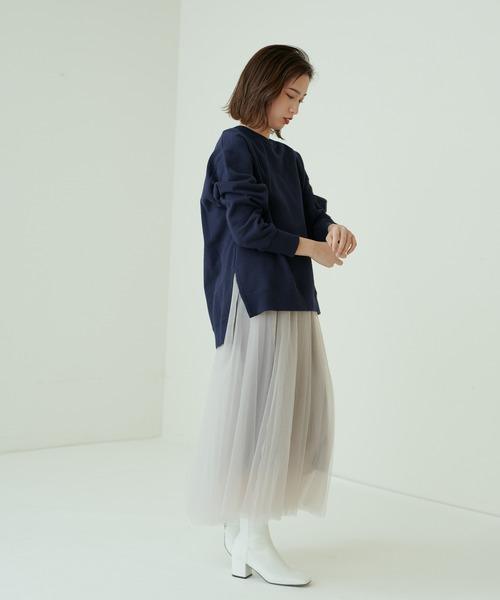 [CIAOPANIC] チュールマキシスカート
