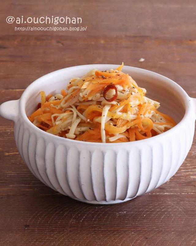 えのきの人気料理で簡単な副菜レシピ《洋風》2