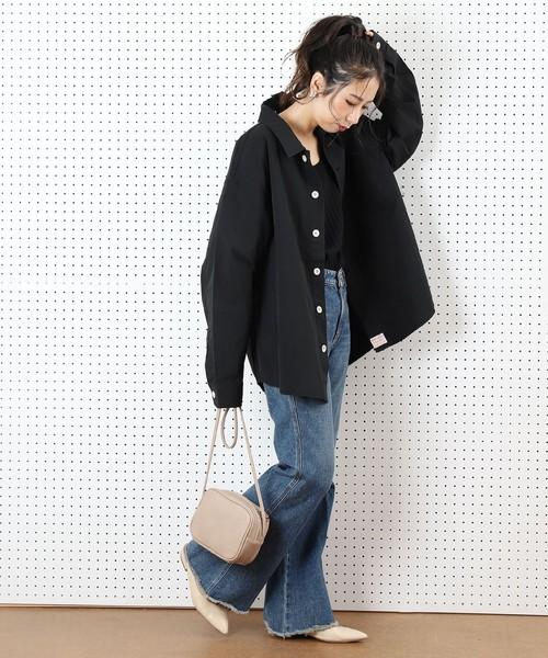 [FREAK'S STORE] 【WEB限定】PENNEY'S/ペニーズ ビッグシルエットシャツジャケット