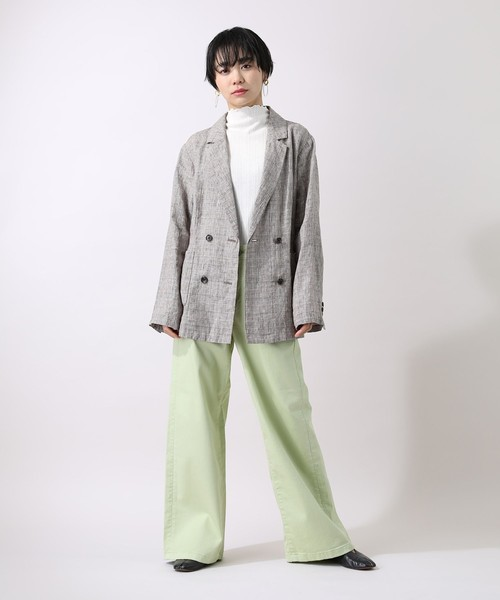 [FREAK'S STORE] SOMETHING × FREAK'S STORE/サムシング 別注LISA WIDE PANTS/ワイドパンツ