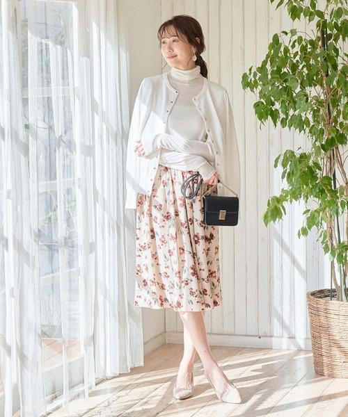 [ROPE' PICNIC] 【WEB限定】リバーシブルスカート
