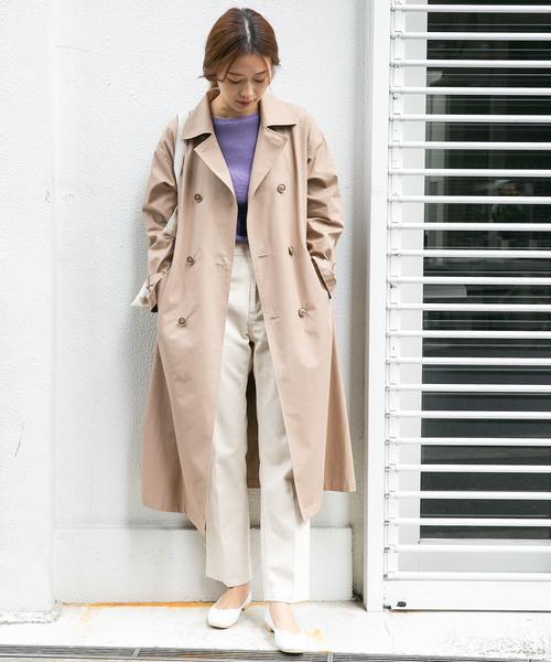 6月の軽井沢:白デニムパンツの服装