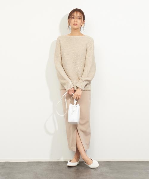 [Rouge vif la cle] 【MICA&DEAL】WEB限定ウォッシュ加工タイトスカート