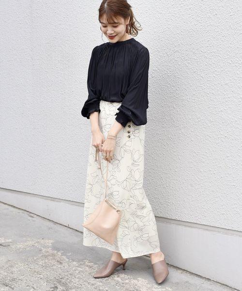 【金沢】6月に最適な服装:スカートコーデ3