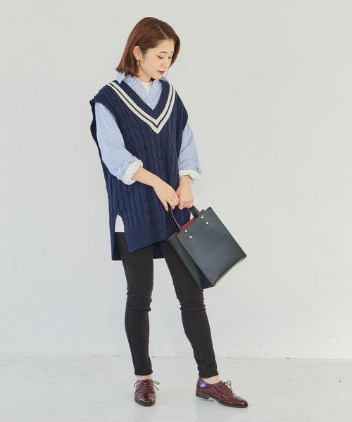 [ORiental TRaffic] 春夏新作★ウィングチップレースアップシューズ★2110
