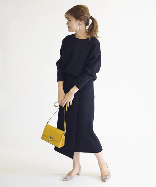 [SHIPS for women] ダンボールセットアップ◆