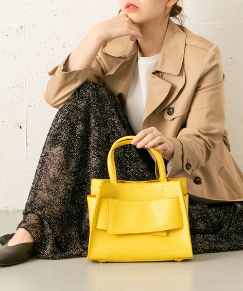 [URBAN RESEARCH ROSSO WOMEN] リボンベルトトートバッグ