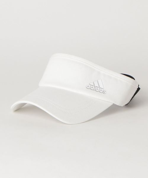 [adidas] ウィメンズ フィットバイザー【adidas Golf/アディダスゴルフ】/ Ribbon Visor