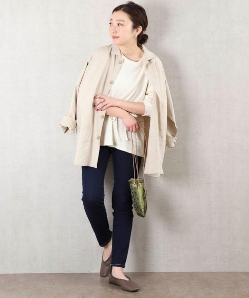 [FREAK'S STORE] 【WEB限定】綿麻シャツジャケット