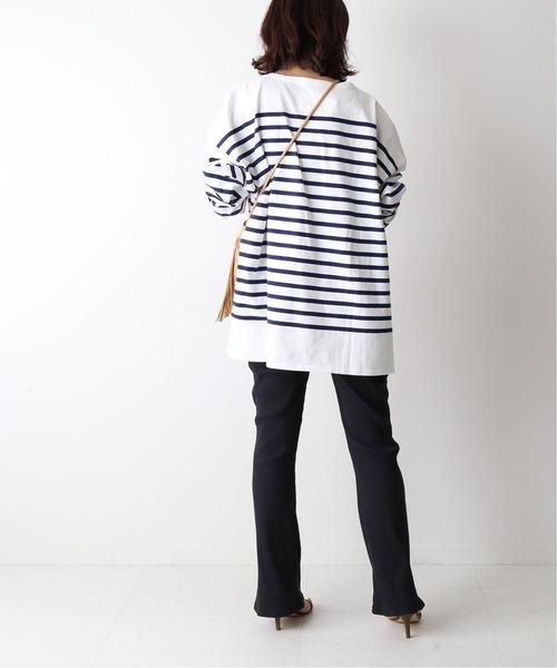 6月の軽井沢:リブレギンスの服装
